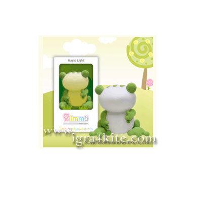 Giimmo - Магическа LED лампа играчка Жабока Mozart
