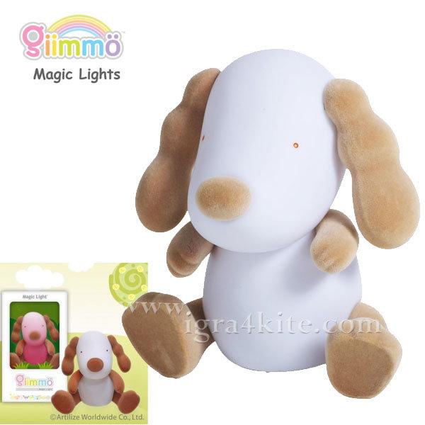 Giimmo - Магическа LED лампа играчка Кученцето Boone