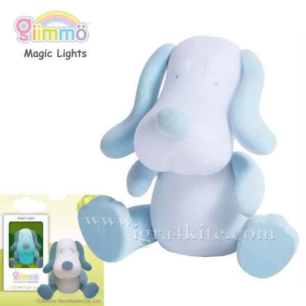 Giimmo - Магическа LED лампа играчка Кученцето Gilbert