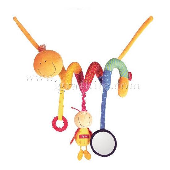 Sigikid - Мека играчка за бебе Гъсеничка 49850