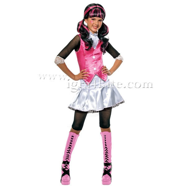 Rubies - Детски карнавален костюм Monster High Draculaura 884787