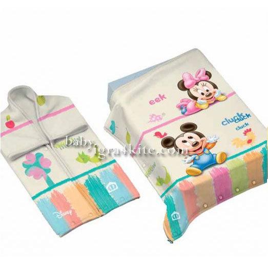 """Disney -  Бебешко одеяло """"Мики и Мини"""""""