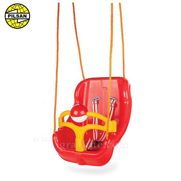 Pilsan - Голяма детска люлка Червена 06130