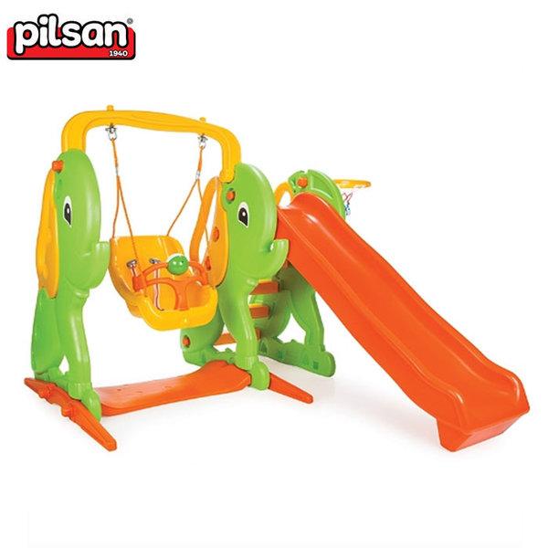 Pilsan - Пързалка с люлка слонче 06161