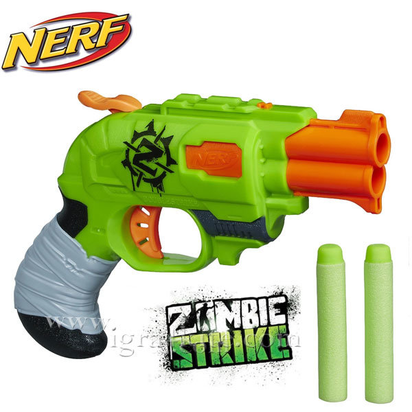 Hasbro Nerf - Нърф Zombie Doublestrike бластер a6562