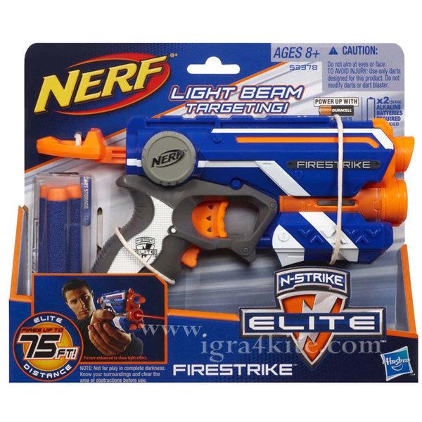 Hasbro Nerf - Нърф Елит Бластер Firestrike 53378
