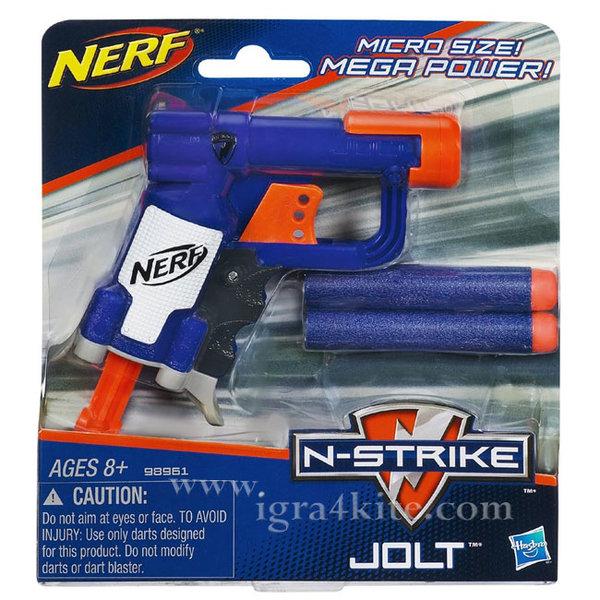 Hasbro Nerf - Нърф Елит Микро бластер Jolt 98961/A0707