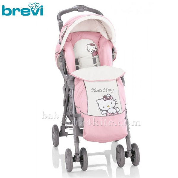 Brevi - Hello Kitty Комбинирана количка GRILLO