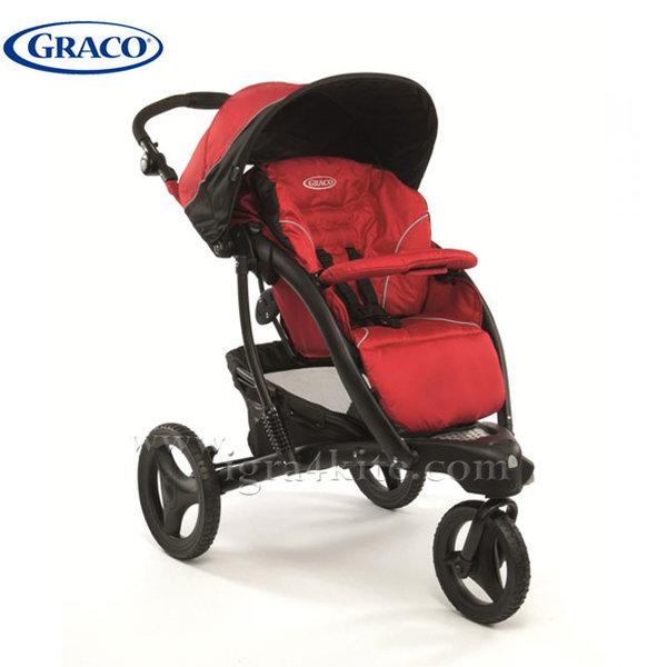 Graco - Бебешка комбинирана количка Trekko Completo Chilli G6T92CRDE