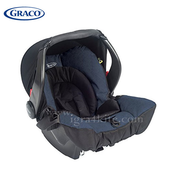 Graco - Столче за кола Snugsafe Navy 0-13кг G8X98NVYU