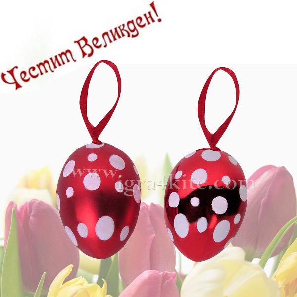 Великденска украса - Великденски яйца 4бр. 53411