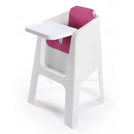 Hoppop - Стол за хранене Trono Fuchsia