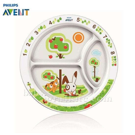 Philips AVENT - Порционна чиния - 12м+