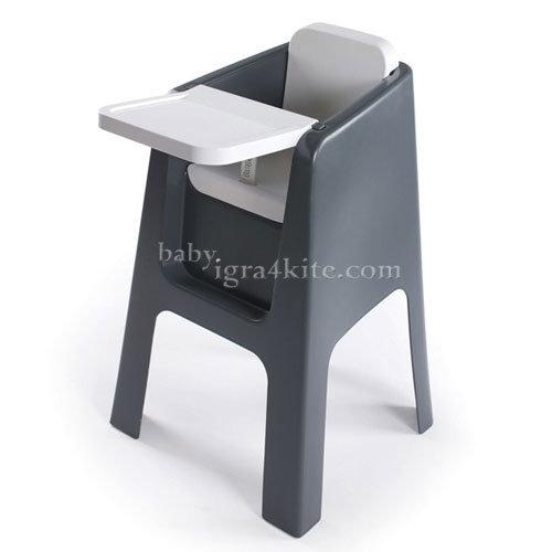Hoppop - Стол за хранене Trono Grey/White