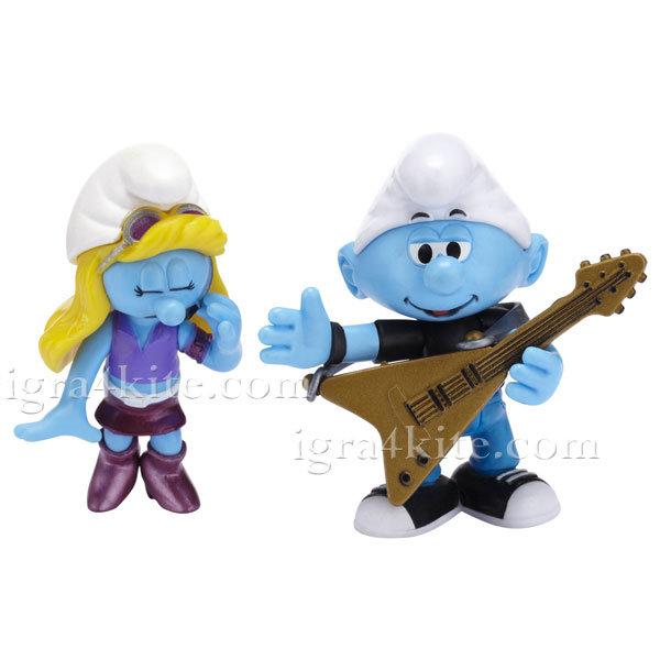 Giochi Preziosi - The Smurfs Смърфиета и Китариста 74020