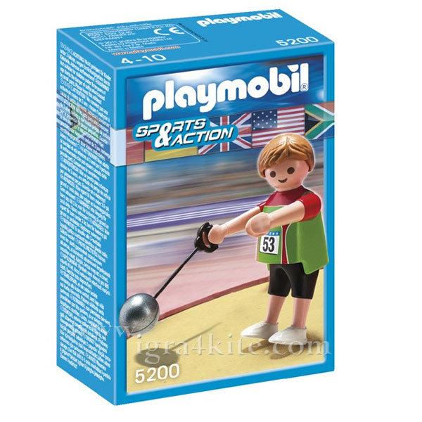 Playmobil - Състезател по хвърляне на чук 5200