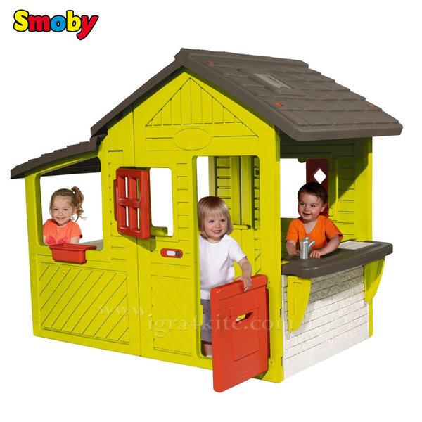 Smoby - Детска къща Neo Floralie 310300