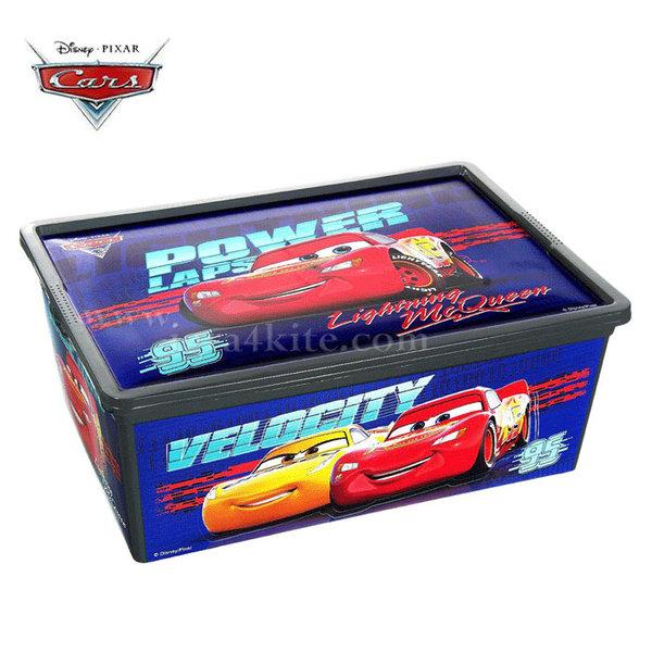 Disney - Кутия за съхранение Cars Колите 32456