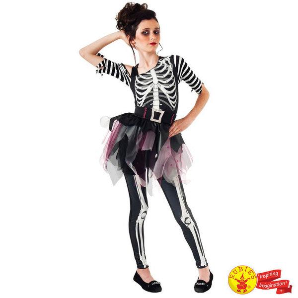 Детски карнавален костюм Г-жа Скелет балерина 610027