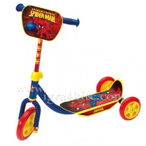 Disney SpiderMan - Детска тротинетка с 3 колела 5004-50085