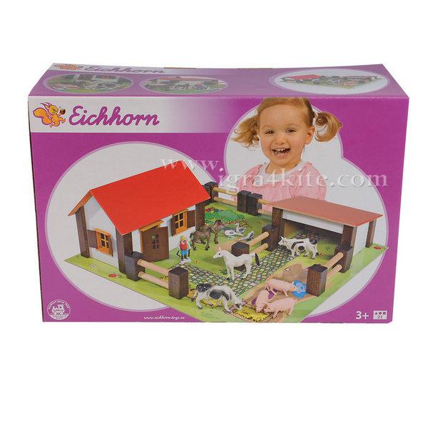 Eichhorn - Дървена ферма с животни 4304