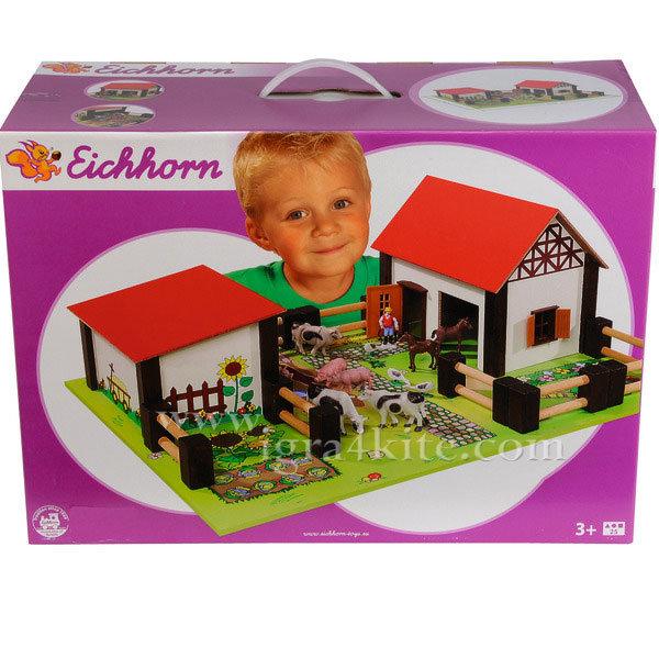 Eichhorn - Дървена ферма с животни 4308