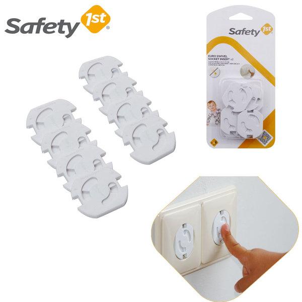 Safety 1st - Въртящи се предпазители за контакт 8бр. 39051760
