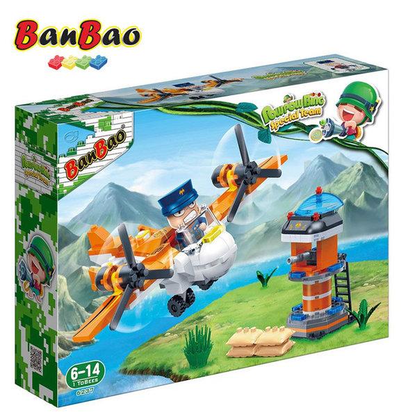1BanBao - Строител 6+ Pow Pow Bing Въртолет 6237