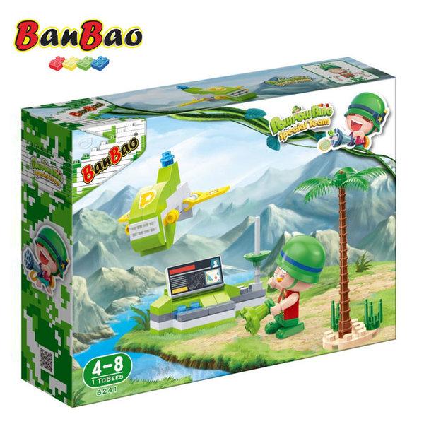 1BanBao - Строител 4+ Pow Pow Bing Самолет 6241