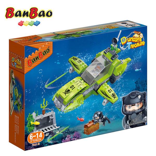 1BanBao - Строител 6+ Съкровището на Дънкан Изследователски подводен кораб 7412