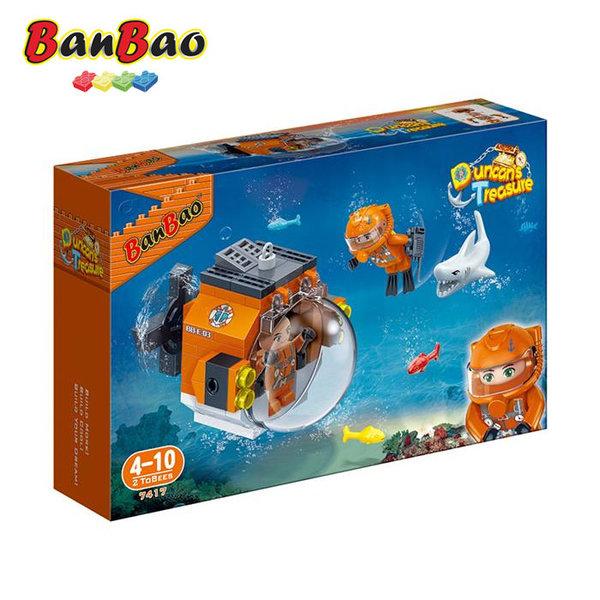 1BanBao - Строител 4+ Съкровището на Дънкан Изследователска капсула 7417