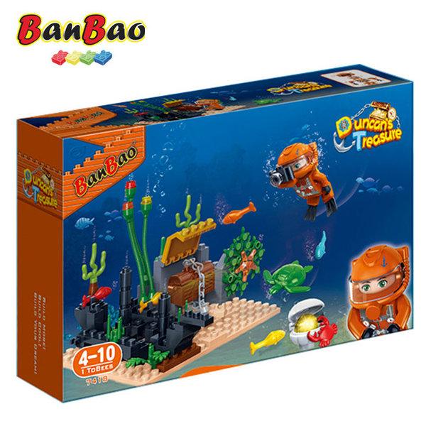1BanBao - Строител 4+ Съкровището на Дънкан На морското дъно 7418