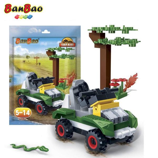 1BanBao - Строител 3+ Мини Сафари 7201