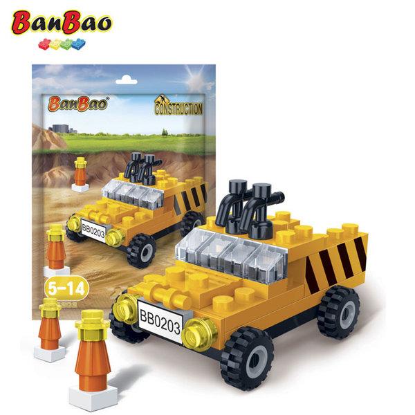 1BanBao - Строител 3+ Мини Строителен камион 7202