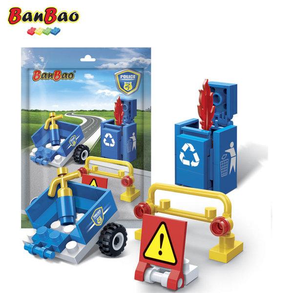 1BanBao - Строител 3+ Мини Полиция 7203