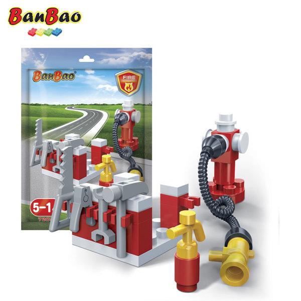 1BanBao - Строител 3+ Мини Пожарна 7205