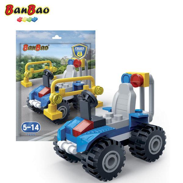 1BanBao - Строител 3+ Мини Полицейско бъги 7206