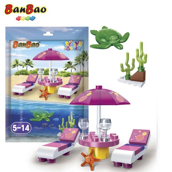1BanBao - Строител 5+ Мини Плаж 7208