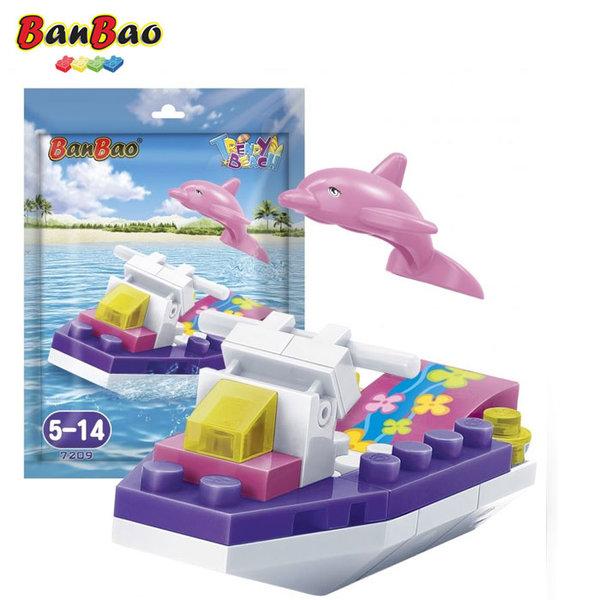 1BanBao - Строител 5+ Мини Моторница 7209