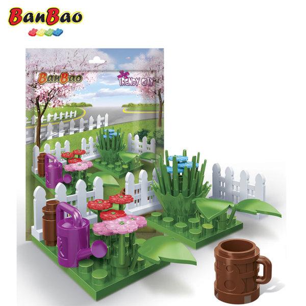 1BanBao - Строител 5+ Мини градина с цветя 7211