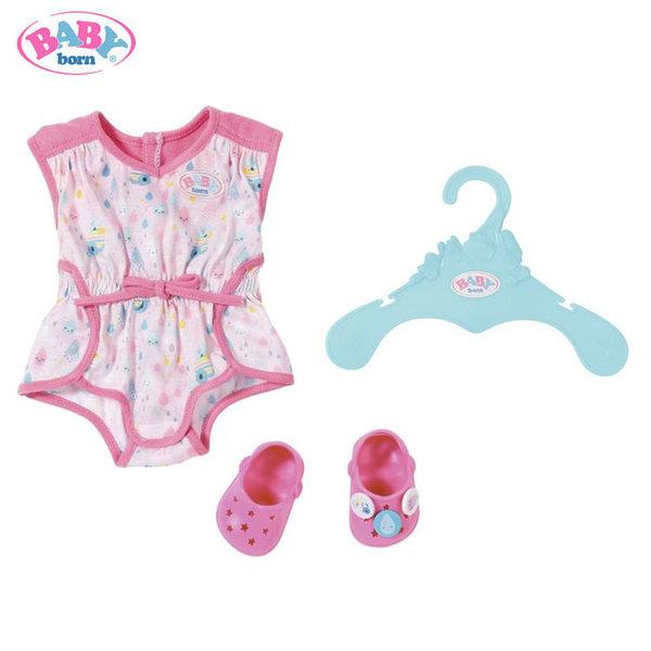 Baby Born - Комплект пижамка с чехли за кукла Бейби Борн 824634