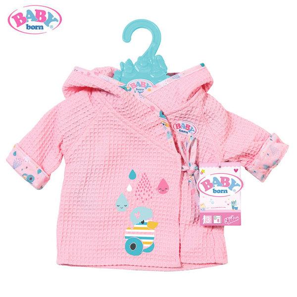 Baby Born - Халат за баня за кукла Бейби Борн 824665