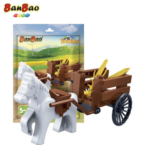 1BanBao - Строител 5+ Мини Конче впряг 7213