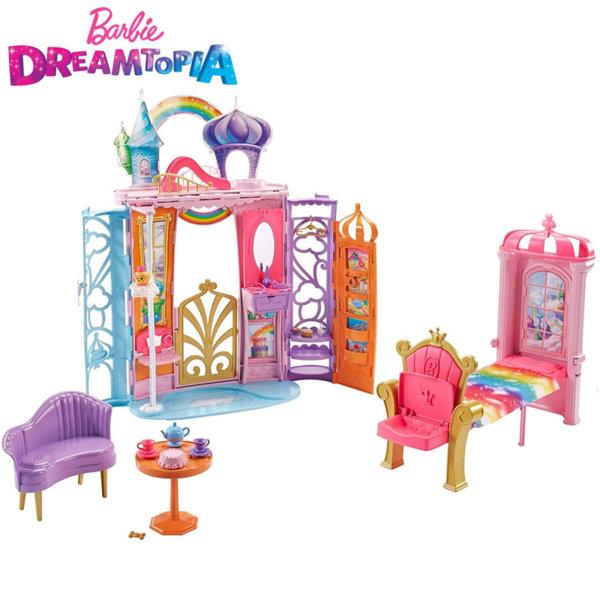 Barbie Dreamtopia - Замъка на Барби принцеса Rainbow Cove FTV98