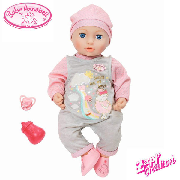 Baby Annabell - Мека кукла Мия 46см 700655