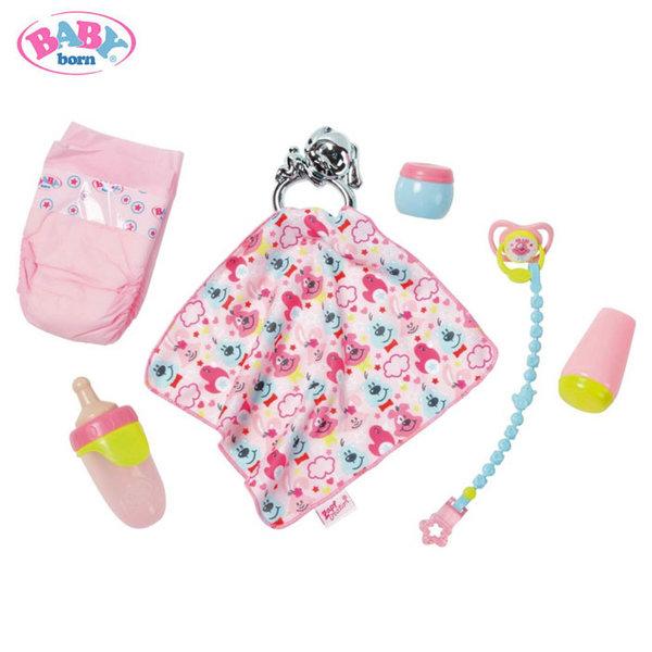 Baby Born - Комплект аксесоари за сън за кукла Бейби Борн 824467