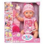 Baby Born - Интерактивна кукла Бейби Борн с аксесоари 824368