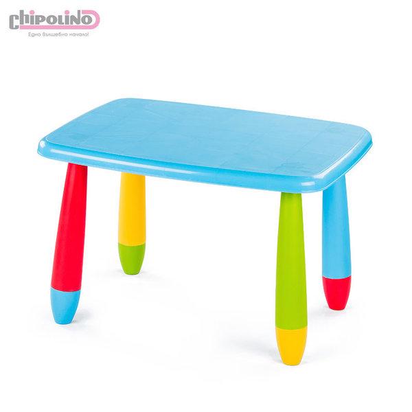 Chipolino - Детска масичка правоъгълна синя DMA01703PBL