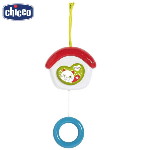 Chicco Музикална играчка за легло Къщичка 07050