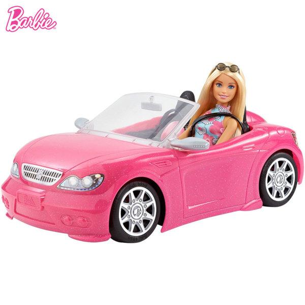 Barbie - Барби с бляскав кабриолет FPR57